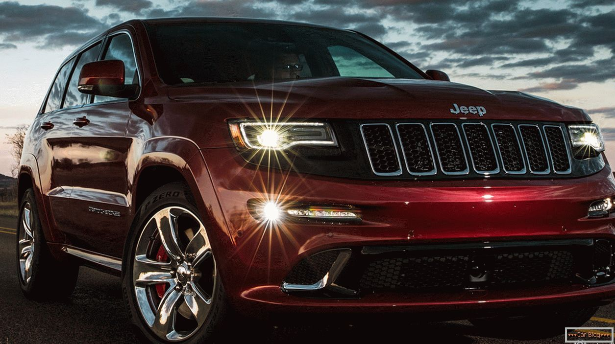Novi Jeep Grand Chiroki SRT 2014