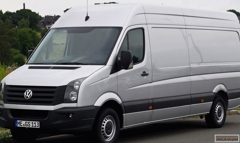vw crafter kamion